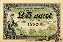 25 Centimes FRANCE régionalisme et divers LE PUY 1916 JP.070.07 TTB à SUP
