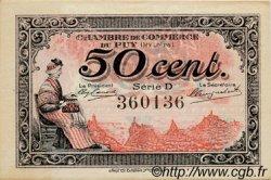 50 Centimes FRANCE régionalisme et divers LE PUY 1916 JP.070.08 TTB à SUP