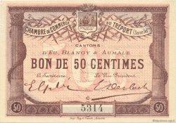 50 Centimes FRANCE régionalisme et divers Le Tréport 1915 JP.071.01 SPL à NEUF