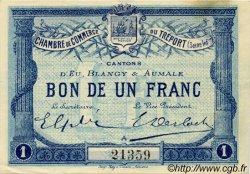 1 Franc FRANCE régionalisme et divers Le Tréport 1915 JP.071.02 TTB à SUP