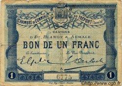 1 Franc FRANCE régionalisme et divers Le Tréport 1915 JP.071.02 TB