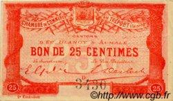 25 Centimes FRANCE régionalisme et divers LE TRÉPORT 1915 JP.071.04 SPL à NEUF