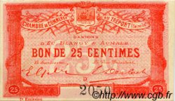 25 Centimes FRANCE régionalisme et divers Le Tréport 1915 JP.071.04 TTB à SUP