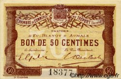50 Centimes FRANCE régionalisme et divers Le Tréport 1915 JP.071.05 TTB à SUP