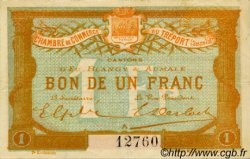 1 Franc FRANCE régionalisme et divers LE TRÉPORT 1915 JP.071.06 TTB à SUP