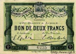 2 Francs FRANCE régionalisme et divers Le Tréport 1915 JP.071.07 TTB à SUP