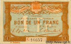 1 Franc FRANCE régionalisme et divers LE TRÉPORT 1915 JP.071.10 TTB à SUP