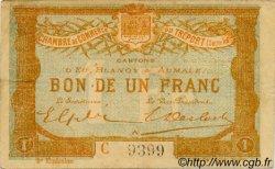 1 Franc FRANCE régionalisme et divers LE TRÉPORT 1915 JP.071.10 TB