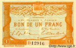 1 Franc FRANCE régionalisme et divers Le Tréport 1916 JP.071.14 SPL à NEUF