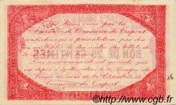 25 Centimes FRANCE régionalisme et divers Le Tréport 1916 JP.071.16 SPL à NEUF