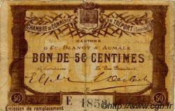 50 Centimes FRANCE régionalisme et divers Le Tréport 1916 JP.071.17 TB