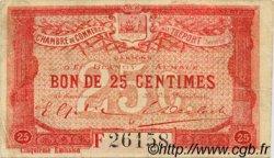 25 Centimes FRANCE régionalisme et divers Le Tréport 1916 JP.071.20 TB