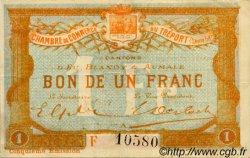 1 Franc FRANCE régionalisme et divers LE TRÉPORT 1916 JP.071.22 TTB à SUP