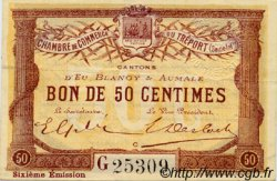 50 Centimes FRANCE régionalisme et divers Le Tréport 1916 JP.071.24 TTB à SUP