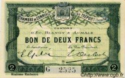 2 Francs FRANCE régionalisme et divers LE TRÉPORT 1916 JP.071.26 SPL à NEUF