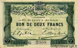 2 Francs FRANCE régionalisme et divers LE TRÉPORT 1916 JP.071.26 TTB à SUP