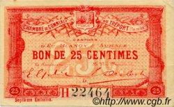 25 Centimes FRANCE régionalisme et divers Le Tréport 1916 JP.071.27 TTB à SUP
