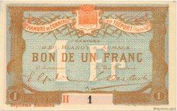 1 Franc FRANCE régionalisme et divers Le Tréport 1916 JP.071.29 SPL à NEUF