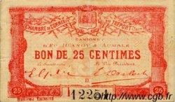 25 Centimes FRANCE régionalisme et divers LE TRÉPORT 1916 JP.071.31 TTB à SUP