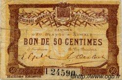 50 Centimes FRANCE régionalisme et divers LE TRÉPORT 1916 JP.071.32 TB
