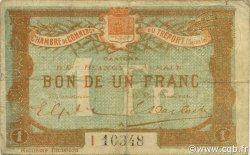 1 Franc FRANCE régionalisme et divers LE TRÉPORT 1916 JP.071.33 TB