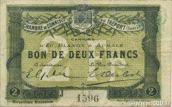 2 Francs FRANCE régionalisme et divers Le Tréport 1917 JP.071.38 TB
