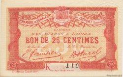 25 Centimes FRANCE régionalisme et divers LE TRÉPORT 1918 JP.071.39 SPL à NEUF