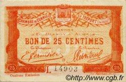 25 Centimes FRANCE régionalisme et divers Le Tréport 1920 JP.071.40 TTB à SUP