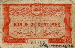 25 Centimes FRANCE régionalisme et divers Le Tréport 1920 JP.071.40 TB