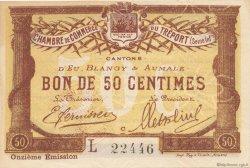 50 Centimes FRANCE régionalisme et divers LE TRÉPORT 1918 JP.071.42 SPL à NEUF