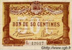 50 Centimes FRANCE régionalisme et divers LE TRÉPORT 1918 JP.071.42 TTB à SUP