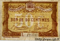 50 Centimes FRANCE régionalisme et divers LE TRÉPORT 1918 JP.071.42 TB