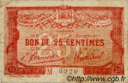 25 Centimes FRANCE régionalisme et divers LE TRÉPORT 1920 JP.071.46 TB
