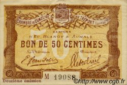 50 Centimes FRANCE régionalisme et divers LE TRÉPORT 1920 JP.071.48 TTB à SUP