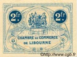 2 Francs FRANCE régionalisme et divers LIBOURNE 1915 JP.072.17 TTB à SUP