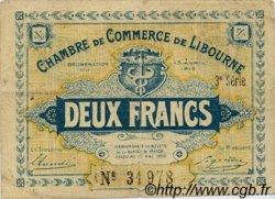2 Francs FRANCE régionalisme et divers LIBOURNE 1915 JP.072.17 TB