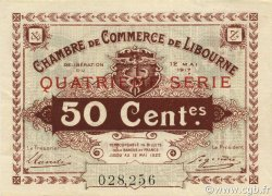 50 Centimes FRANCE régionalisme et divers LIBOURNE 1917 JP.072.18 SPL à NEUF