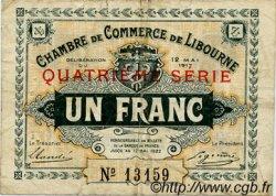 1 Franc FRANCE régionalisme et divers LIBOURNE 1917 JP.072.19 TB