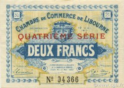 2 Francs FRANCE régionalisme et divers LIBOURNE 1917 JP.072.20 SPL à NEUF