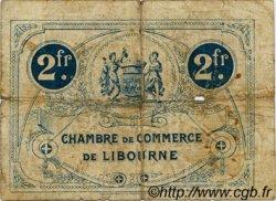 2 Francs FRANCE régionalisme et divers LIBOURNE 1917 JP.072.20 TB