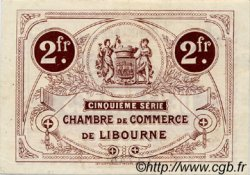 2 Francs FRANCE régionalisme et divers LIBOURNE 1918 JP.072.27 TTB à SUP