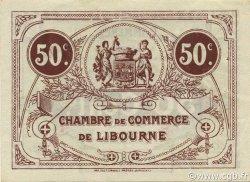 50 Centimes FRANCE régionalisme et divers Libourne 1920 JP.072.32 SPL à NEUF