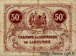 50 Centimes FRANCE régionalisme et divers Libourne 1920 JP.072.32 TB
