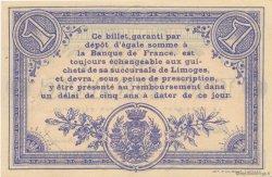 1 Franc FRANCE régionalisme et divers LIMOGES 1914 JP.073.10 TTB à SUP