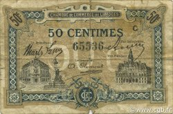 50 Centimes FRANCE régionalisme et divers LIMOGES 1919 JP.073.20 TB