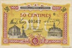 50 Centimes FRANCE régionalisme et divers LIMOGES 1918 JP.073.23 SPL à NEUF