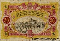 50 Centimes FRANCE régionalisme et divers LIMOGES 1918 JP.073.23 TB