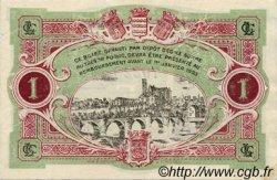 1 Franc FRANCE régionalisme et divers LIMOGES 1918 JP.073.24 TTB à SUP