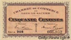50 Centimes FRANCE régionalisme et divers Lons-Le-Saunier 1918 JP.074.01 SPL à NEUF
