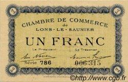 1 Franc FRANCE régionalisme et divers Lons-Le-Saunier 1920 JP.074.05 SPL à NEUF